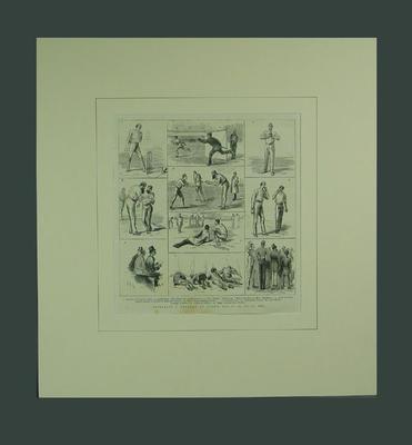 "Print, ""Australia v England at Lord's 1884"""