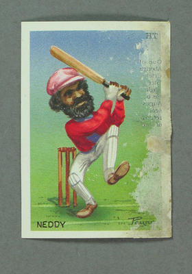 1993 Australian Cigarette Card Company The First Australians Neddy trade card
