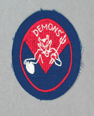 Cloth badge, Melbourne FC