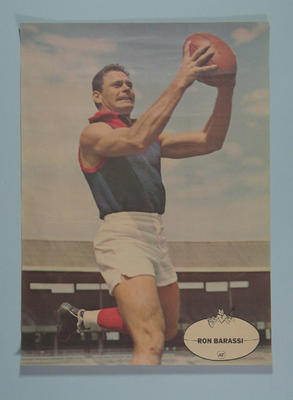Poster, image of Ron Barassi
