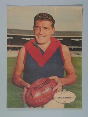 Poster, image of Brian Dixon