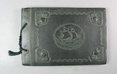 Souvenir album kept by Tom Leather, Australian cricket team tour of India, 1936-37