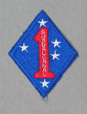 Patch, United States Marines - Guadalcanal; Trophies and awards; M9066