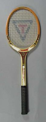 Tennis racquet, c1950s