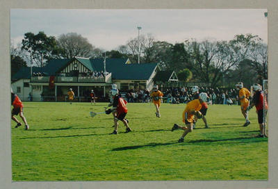 Thirty-six photographs, Australian Lacrosse Championships at the Albert Ground - 9 July 1995