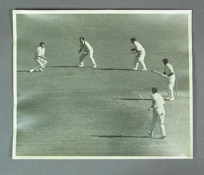 Photograph of Australia v India Test match, MCG - 1967-68