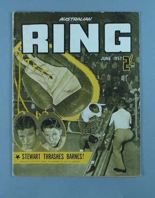 "Magazine, ""Australian Ring"" June 1957"