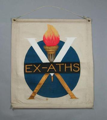 Banner used by the V.W.A. Ex- Athlete's Club