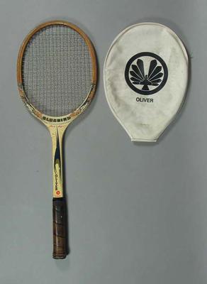 Tennis racquet & cover, Oliver Junior Bluebird