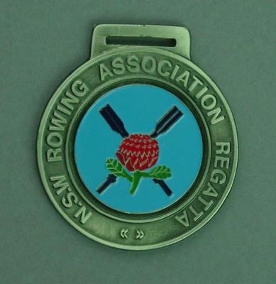 Medal, New South Wales Rowing Association Regatta 1987