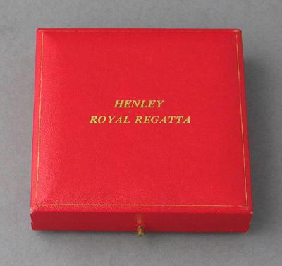 Box for medal won by Peter Antonie, 1995 Henley Regatta