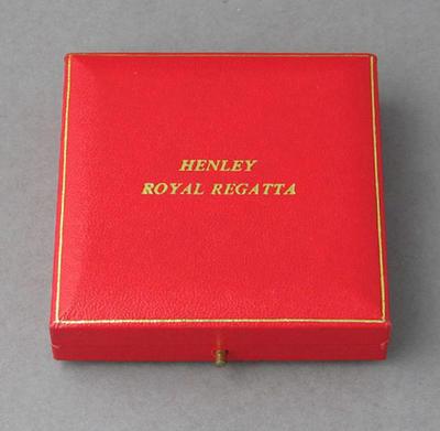 Box for medal won by Peter Antonie, 1988 Henley Regatta