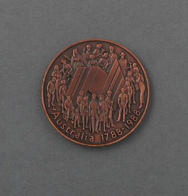 Medal, West Lakes Men's Double Sculls 1988