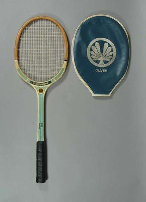 Tennis racquet & cover, Oliver Zone Final Tournament