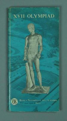 Guide book, 1960 Rome Olympic Games