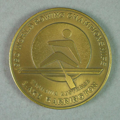 Medal, 1990 World Rowing Championships