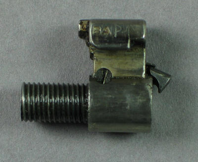 Rifle bolt head, used by Percy Pavey c1930s-40s; Sporting equipment; 1994.3074.3