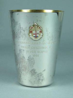 Trophy, Melbourne Amateur Regatta Yarra Challenge & Silver Sculls 1992