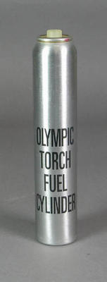 Fuel cylinder, Sydney 2000 Olympic Games Torch Relay