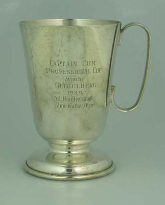 Trophy, 1939 Professional Cup won by Heidelberg; Trophies and awards; 1989.2124.1