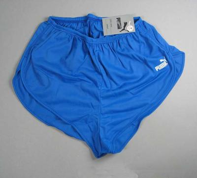 "Blue Puma ""Sprint"" running shorts"