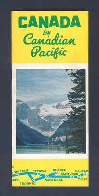 Tourist brochure, Canada c1954