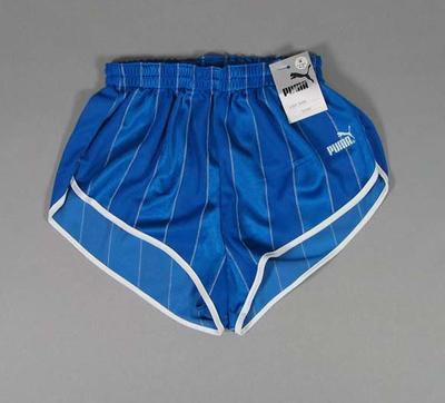 """Blue Puma """"Flyer"""" running shorts"""
