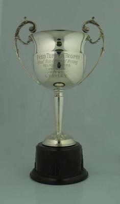 Trophy, Fred Tupper Trophy Best Exhibition of Boxing 24 Aug 1938