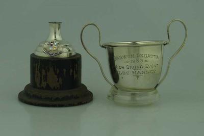 Trophy, Barwon Regatta High Diving 1933
