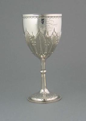 Trophy awarded for Challenge Pair Oared Race, Melbourne Regatta 1869
