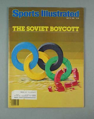 "Magazine, ""Sports Illustrated"" 21 May 1984"