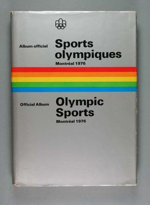 Book, 1976 Olympic Games Olympic Sports album