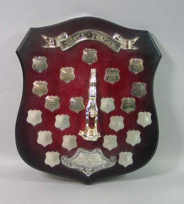 Shell Trophy - Australian Junior Boys Gymnastic Teams Event - 1967-1979; Trophies and awards; 1998.3402.5