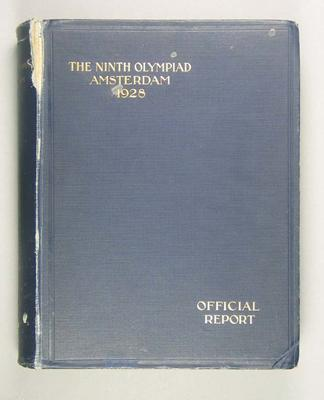 Official report of the 1928 Amsterdam Olympic Games