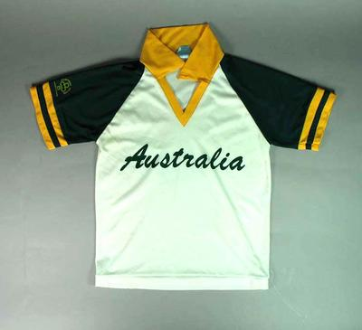 Australian softball uniform, 1986 International Women's World Championship