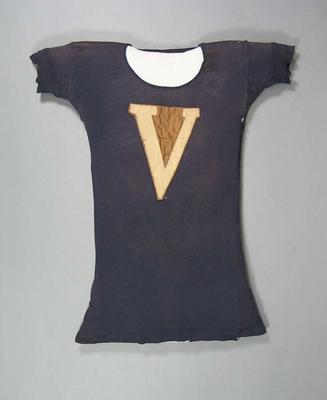 Running singlet, worn by Corrie Gardner c1900s