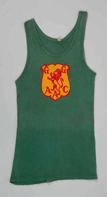 Geelong Guild Amateur Athletic Club singlet, worn by John Landy c1954