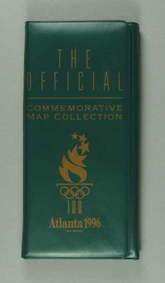 Commemorative maps, 1996 Atlanta Olympic Games