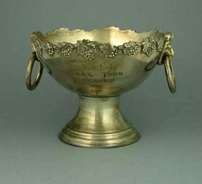Trophy - V.S.A.F.L.  Final Four Richmond 1956