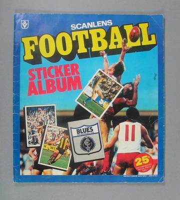 Scanlens Football Sticker Album 1983