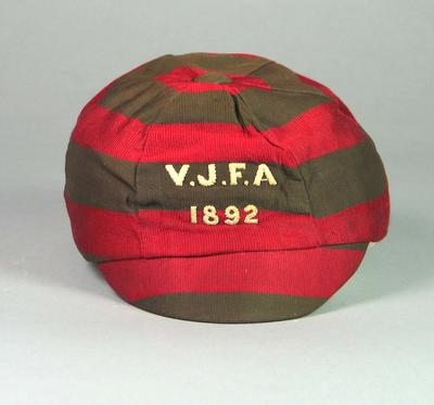 Cap, Victorian Junior Football Association 1892