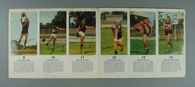 Mobil Footy Photos Album, 1965