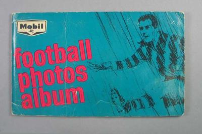 Mobil Footy Photos Album, 1964; Documents and books; 1989.2151.2