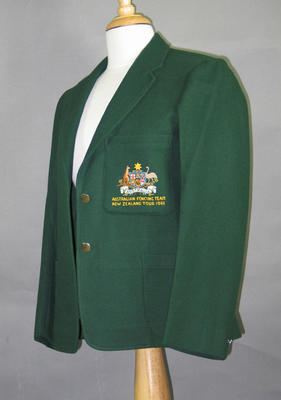 Blazer, Australian Fencing Team - New Zealand Tour 1961