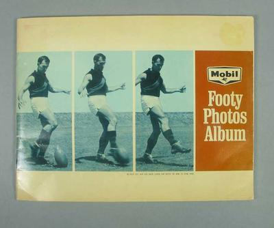 1965 Mobil Footy Photos Album; Documents and books; 1990.2365