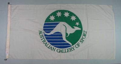 Flag, Australian Gallery of Sport logo