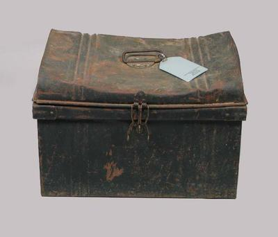 Trunk, used to store Wisden Cricketers' Almanacks