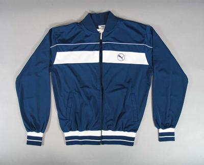 Navy blue Puma tracksuit jacket