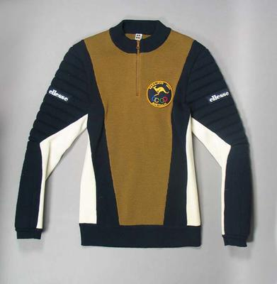 Two jumpers, Australian 1984 Winter Olympic Games uniform; Clothing or accessories; 2001.3814.3
