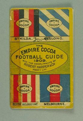 Booklet - 'The Empire Cocoa Football Guide 1909'